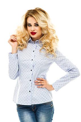 Рубашка 218 светло-голубая, фото 2