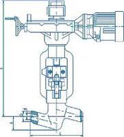 Вентиль (клапан) 999-20-ЭА Ду20, Ру25,0МПа,Т545С