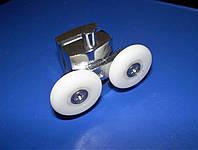 Ролик двойной с кнопкой для душ кабины HS10, фото 1