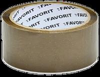 Скотч 38мм/50м коричневый FAVORIT