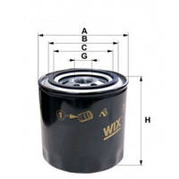 Фильтр масляный WIX 57521 Богдан (пр-во WIX)
