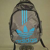 Рюкзак Adidas Classic Line, Адидас серый с голубым