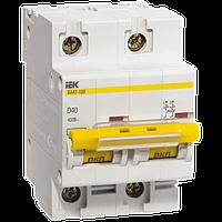 Автоматический выключатель ВА47-100 2Р 50А 10кА х-ка D, MVA40-2-050-D, ИЭК