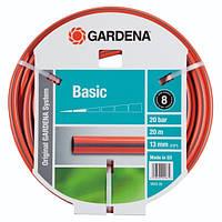 """Поливочный шланг Gardena Basic 1/2"""" 20 м (18123-29.000.00)"""
