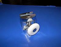 Ролик одинарный для душ кабины хром 25мм HS07, фото 1
