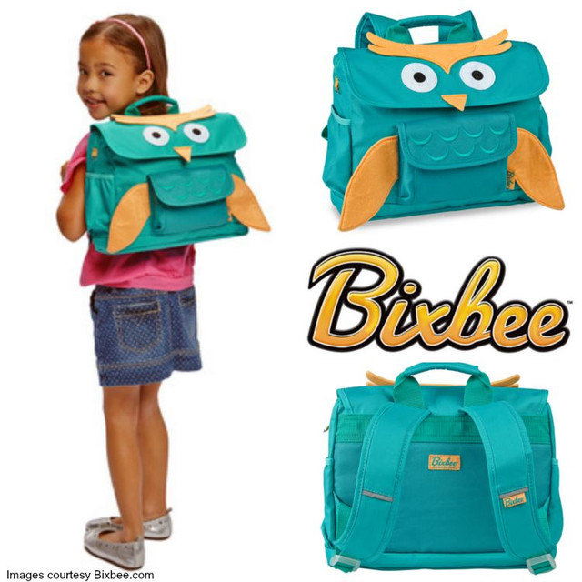 Детские рюкзаки и ланчбоксы Bixbee (США)