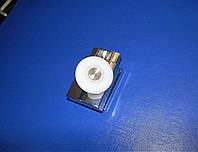 Ролик одинарный нажимной для душ кабины хром 25мм HS07, фото 1