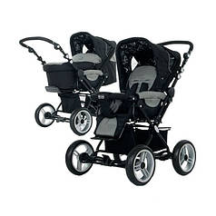 Универсальная коляска ABC Design Pramy Luxe Black Pearl