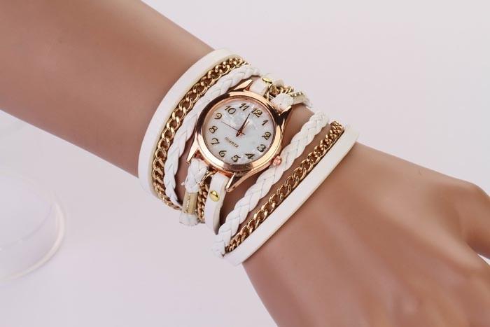Часы-браслет - Белые