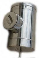 Ревизия из нержавеющей стали (Aisi 321) 0,8 мм Ø110