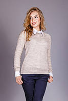 Джемпер идеален в сочетании с рубашкой , фото 1