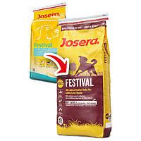 Корм для собак JOSERA Festival  йозера фестиваль (для требовательных собак) 15кг