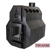 Дровяная стальная печь Сварог М тип 3 мощностью 32 квт