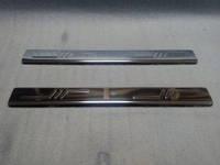Citroen Jumpy (2007+) Дверные пороги Omsa  (нерж.) 2 шт.
