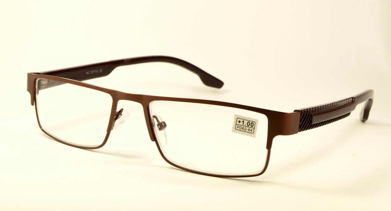 Бронзовые очки в металле (1055)