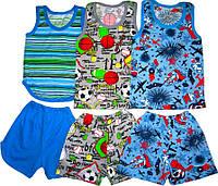 01.05 Комплект майка+шорты на мальчика р.26-34, фото 1