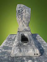 """Ритуальные памятники """"Низкая крест-роза"""", Код 9"""