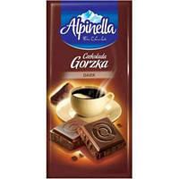 Шоколад черный Alpinella Gorzka 90г