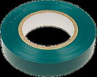 Изолента ПВХ 19мм/10м зеленая TECHNICS