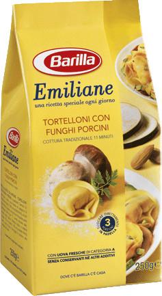 Barilla Emiliane «Tortellini» італійські пельмені з білими грибами 250 гр.