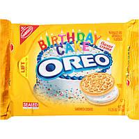 Nabisco Oreo Birthday Cake Sandwich Cookies 432 грамма