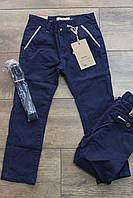 Катоновые брюки в рубчик для мальчиков  110, 116, 122, 128, 134 рост.   Цвет:синий, черный, серый