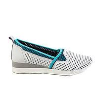 Туфли женские кожаные Velluto 531124 R, фото 1