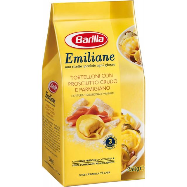 Barilla Emiliane «Tortellini» італійські пельмені з прошутто і сиром пармезан 250 гр.