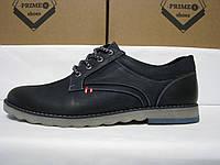 Туфли кожаные на шнурках PRIME