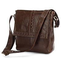 Плетенный мессенджер, сумка через плечо