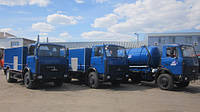 Машины, поставленные для Киевводоканала