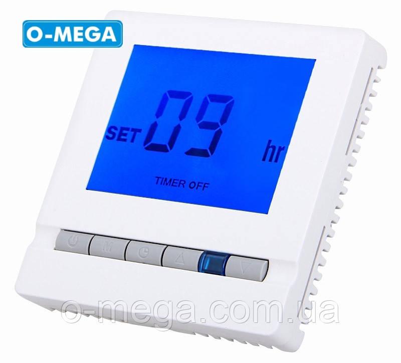 Терморегулятор программируемый Floureon BYC03 для теплого пола с датчиком температуры