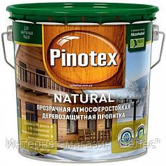 PINOTEX NATURAL Лессирующее износостойкое деревозащитное средство 3 л
