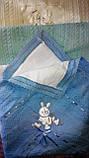 Детский плед вязанный с утеплителем, фото 4