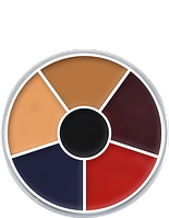 Грим для лица CREAM COLOR CIRCLE (Burned Skin)