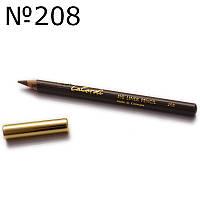 Карандаш для глаз (темно-коричневый) LaCordi  208