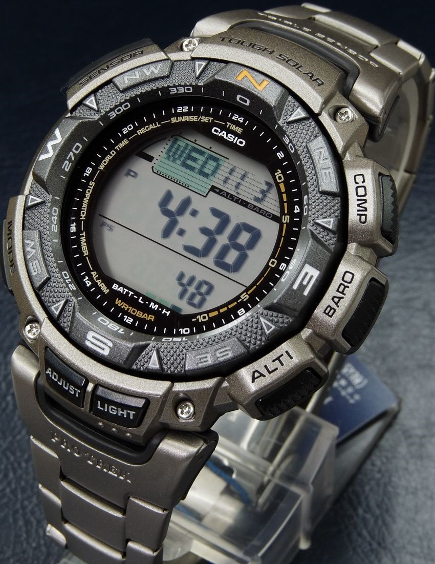 Часы Casio Pro-Trek PRG240T-7