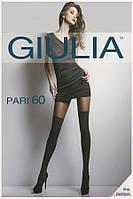 Колготки женские имитация чулка PARI 60 (16) от тм Giulia 2-S, nero