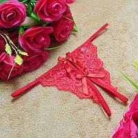Стринги с разрезом / Эротическое белье / Сексуальное белье / Еротична білизна, фото 1