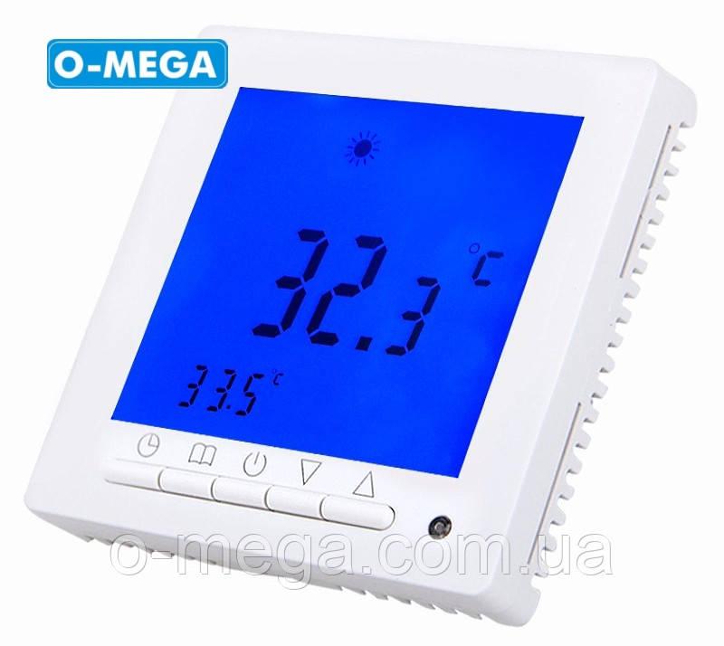 Терморегулятор программируемый Floureon C09 для теплого пола с датчиком температуры