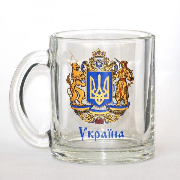 """Кружка 300 мл. с символикой  """"Украина"""""""