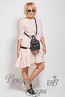 Лёгкое летнее повседневное платье. 7 цветов