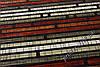 """Ковер Фиренце с карвинг эффектом """"Бамбук"""", цвет серо-красный, фото 3"""
