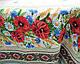 Тканина для скатертини рогожка Польові квіти 150 см (183231), фото 5