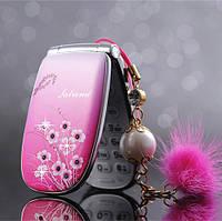 Маленький телефончик раскладной Satrend A1 mini на 1 Sim
