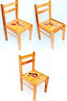 Стульчик для ребенка деревянный Малыш Винкс