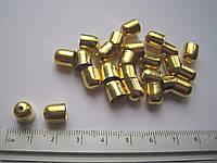 Колпачек для жгута (d 0,8 см) золото