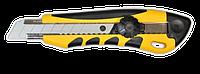 Нож с крутящимся фиксатором 18мм упрочненный FAVORIT