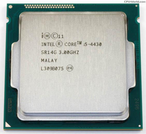 """Процессор Intel Core i5 4430 3.0GHz  Б\У """"Over-Stock"""""""