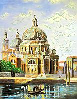 Схема для вышивки бисером POINT ART Величие архитектуры, размер 31х40 см